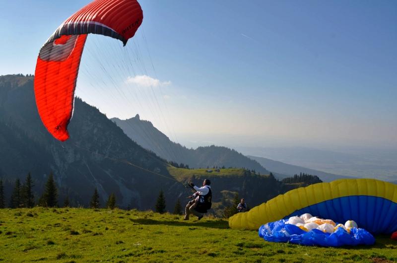 Hobby Paralayang teknik dan caranya
