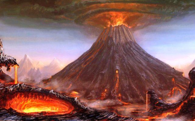 Ilustrasi Letusan Ilusstrasi Letusan Gunung Tambora Stratovolcano Sumber Gambar meteoweb[.]eu