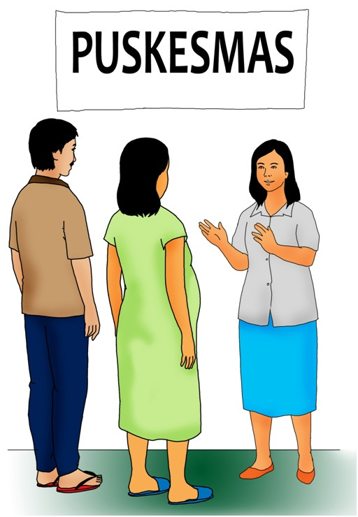 Gambar 2 : Periksa Kehamilan