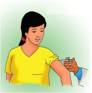 Gambar 6 : Imunisasi Pada Saat Hamil