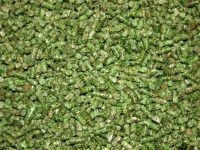 Pelet herbal buatan dengan bahan baku utama tumbuhan