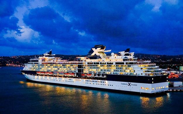 Celebrity Cruises family So Celebrity Cruises goal during their Alaska cruises
