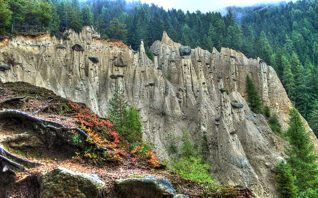 Earth Pyramids and Vineyards of South Tyrol visit Italy