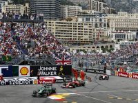 Formula One Race through the streets of Monte Carlo