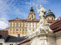 Monastery Melk in Austria, Europe