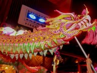 Night Safari Singapore Attraction Barongsai