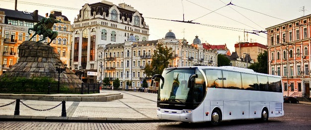Bus tours experience within a single European country