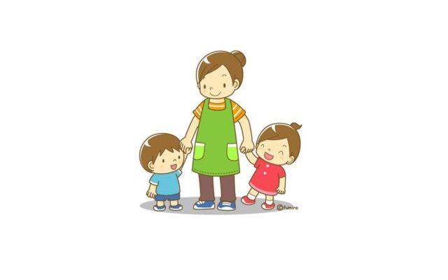 Lirik Lagu Anak Mengantar Ibu